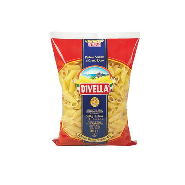 Alimentari Buonconsiglio DIVELLA MEZZE PENNE RIGATE 500 GR