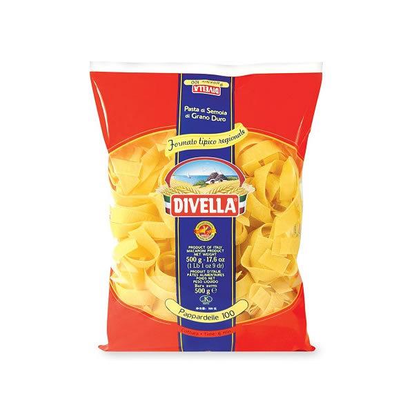 Alimentari Buonconsiglio DIVELLA PAPPARDELLE NIDO 500 GR