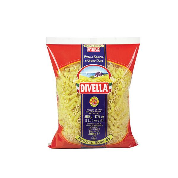 Alimentari Buonconsiglio DIVELLA PATERNOSTI RIGATI 500 GR