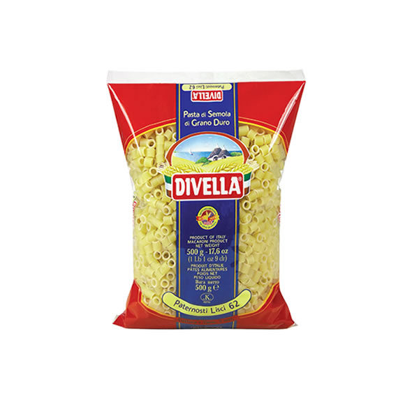Alimentari Buonconsiglio DIVELLA PATERNOSTRI LISCI 500 GR