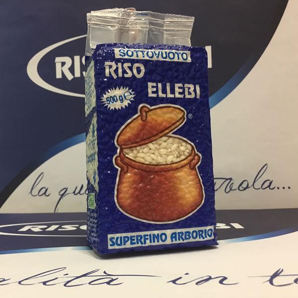 Alimentari Buonconsiglio ELLEBI RISO SUPER FINO ARBORIO 500 GR