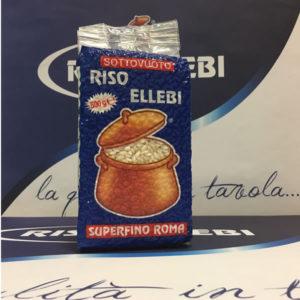 Alimentari Buonconsiglio ELLEBI RISO SUPER FINO ROMA 500 GR