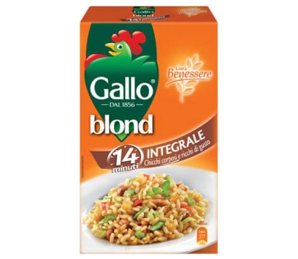 Alimentari Buonconsiglio GALLO RISO BLOND INTEGRALE 500 GR