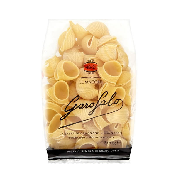 Alimentari Buonconsiglio GAROFALO FORMATO SPECIALE LUMACONI 500 GR