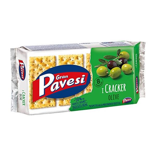 Alimentari Buonconsiglio GRAN PAVESI CRACKERS OLIVE 8 PORZIONI 280 GR