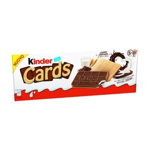 Alimentari Buonconsiglio - KINDER CARDS LATTE GR. 128