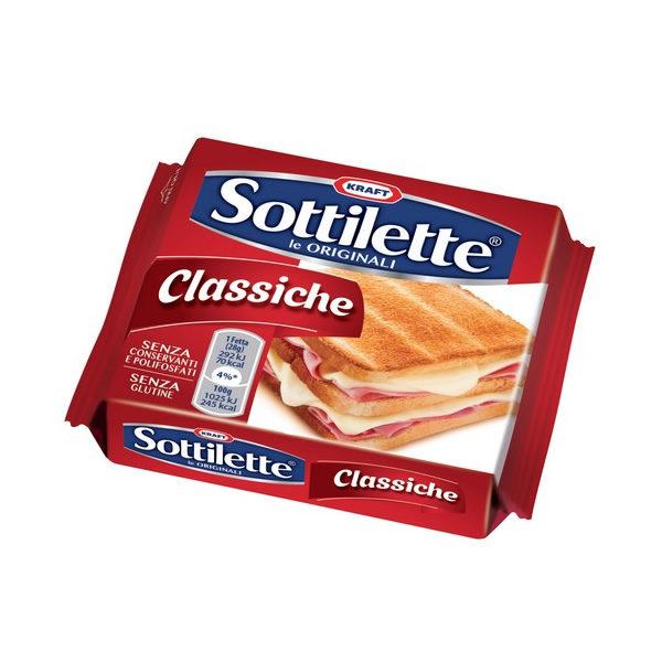 Alimentari Buonconsiglio - KRAFT SOTTILETTE CLASSICHE GR. 200