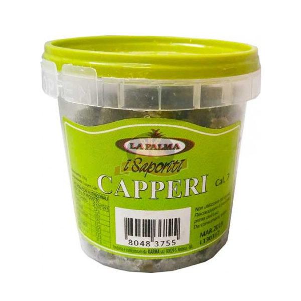 Alimentari Buonconsiglio LA PALMA CAPPERI AL SALE GR.100