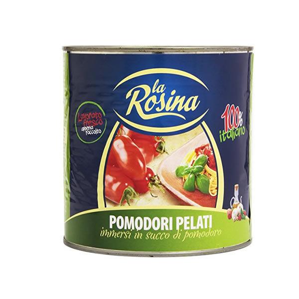 Alimentari Buonconsiglio LA ROSINA POMODORI PELATI 800 GR