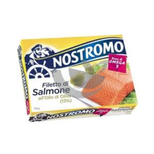 Alimentari Buonconsiglio - NOSTROMO FILETTI DI SALMONE GR. 120