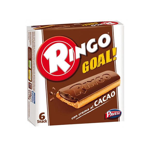 Alimentari Buonconsiglio RINGO GOAL GUSTO CACAO 6 PORZIONI