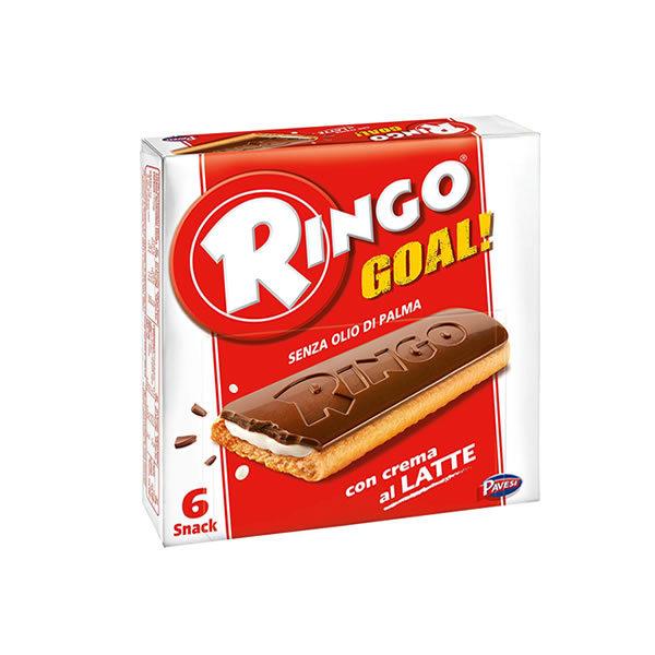 Alimentari Buonconsiglio RINGO GOAL GUSTO CREMA AL LATTE 6 PORZIONI