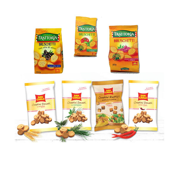 Alimentari Buonconsiglio SAN CARLO CROSTINI VARI TIPI 50-75 GR