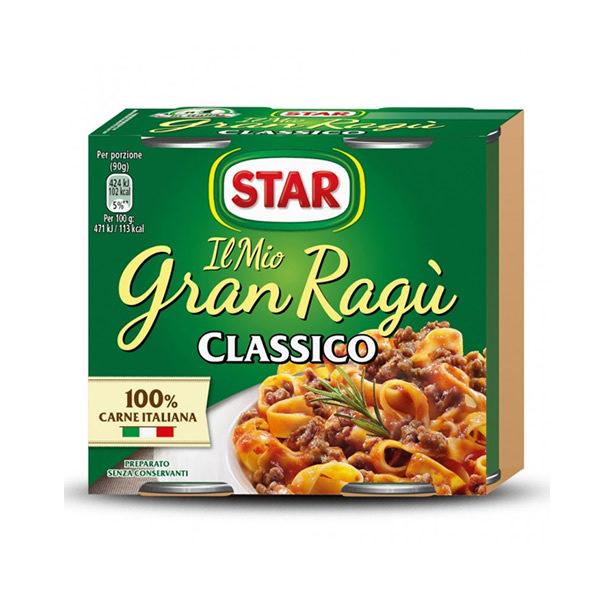 Alimentari Buonconsiglio STAR GRAN RAGU' 2 X 180 GR