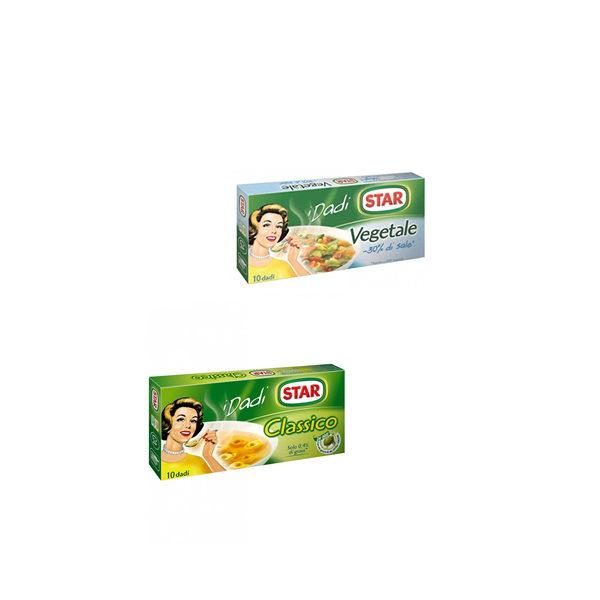 Alimentari Buonconsiglio STAR IL MIO DADO CLASSICO E VEGETALE X10 CUBI