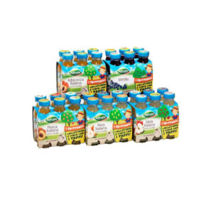 Alimentari Buonconsiglio VALFRUTTA BOTTIGLINE 6 X 125 ML VARI GUSTI