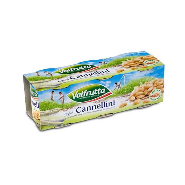 Alimentari Buonconsiglio VALFRUTTA CANNELLINI 3 X 400 GR