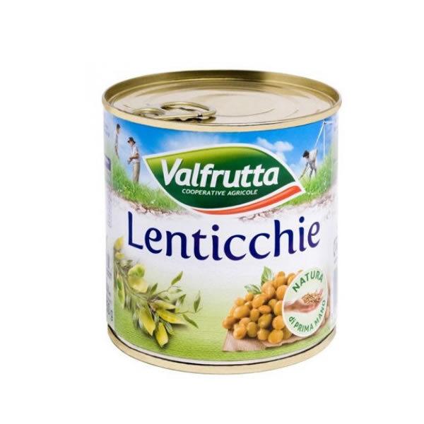 Alimentari Buonconsiglio VALFRUTTA LENTICCHIE 400 GR