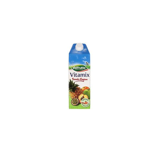 Alimentari Buonconsiglio VALFRUTTA SUCCHI BRIK VITA MIX ML.1500