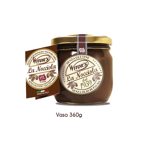 Alimentari Buonconsiglio WITOR'S LA NOCCIOLA CREMA SPALMAGILE ALLA NOCCIOLA 360 GR