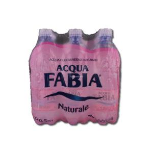 Alimentari Buonconsiglio ACQUA FABIA NATURALE 6 X 50 CL