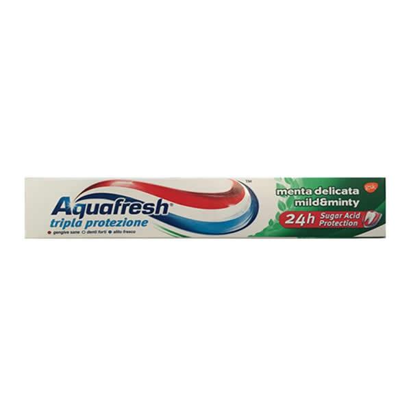 Alimentari Buonconsiglio AQUAFRESH TRIPLA PROTEZIONE MENTA DELICATA 75 ML