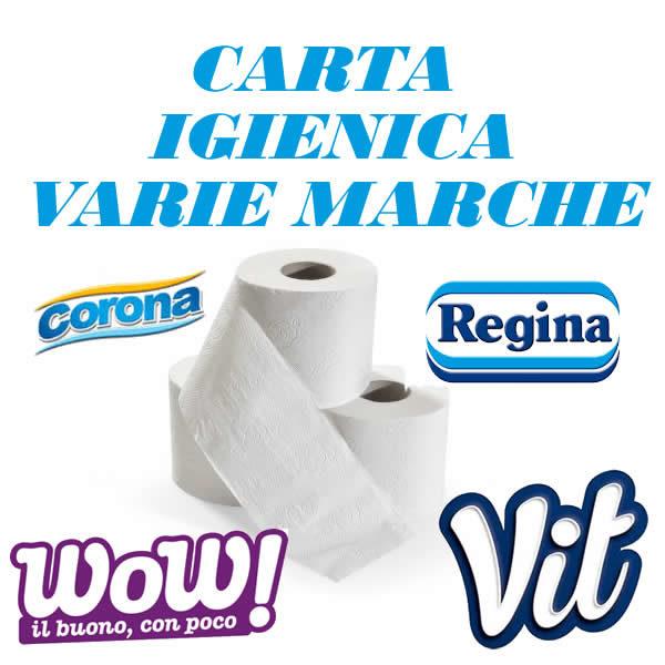 Alimentari Buonconsiglio CARTA IGIENICA VARIE MARCHE