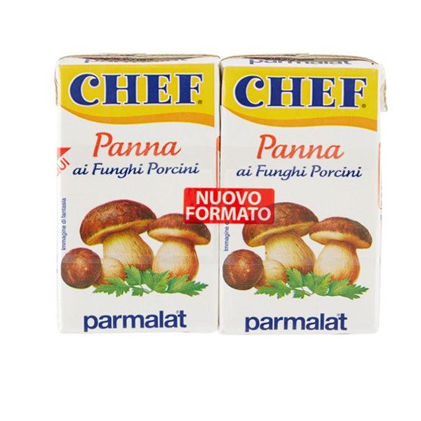 Alimentari Buonconsiglio CHEF PANNA DA CUCINA AI FUNGHI PORCINI 2 X 125 ML