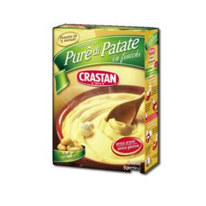 Alimentari Buonconsiglio CRASTAN PURE' DI PATATE 3 BUSTE 225 GR