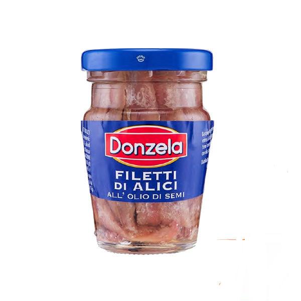 Alimentari Buonconsiglio DONZELLA FILETTI DI ALICI 80 GR