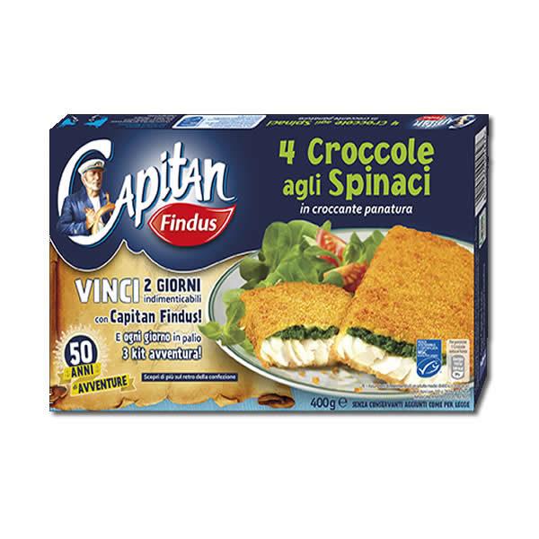 Alimentari Buonconsiglio FINDUS 4 CROCCOLE SPINACI 400 GR