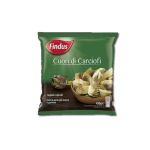 Alimentari Buonconsiglio FINDUS CUORI DI CARCIOFI 450 GR