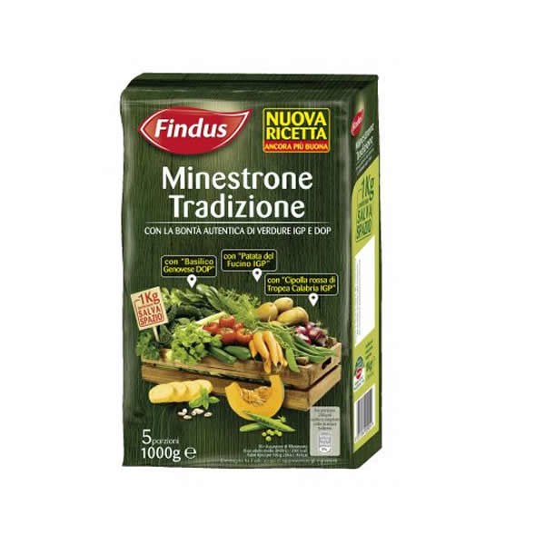 Alimentari Buonconsiglio FINDUS MINESTRONE TRADIZIONALE 1 KG