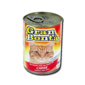 Alimentari Buonconsiglio GRAN BONTA' GATTO CARNE 400 GR