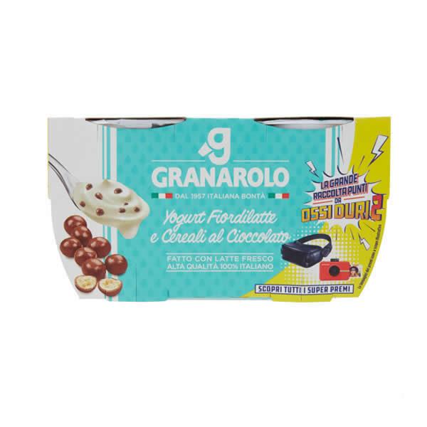Alimentari Buonconsiglio GRANAROLO YOGURT CON CEREALI AL CIOCCOLATO 2 X 125 GR
