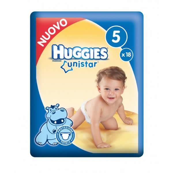 Alimentari Buonconsiglio HUGGIES UNISTAR 5 MISURA