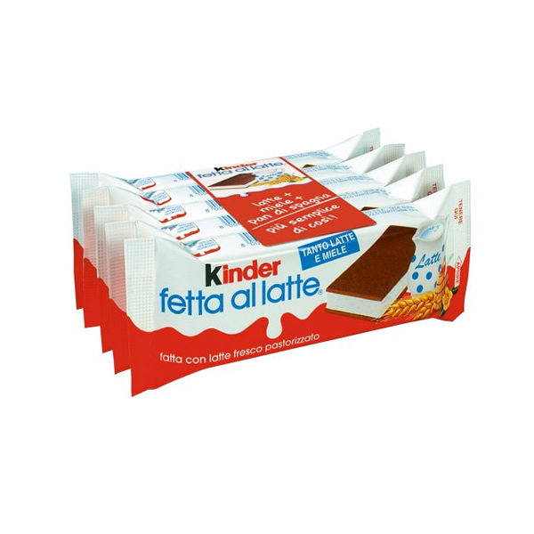 Alimentari Buonconsiglio KINDER FETTE AL LATTE 5 X 28 GR