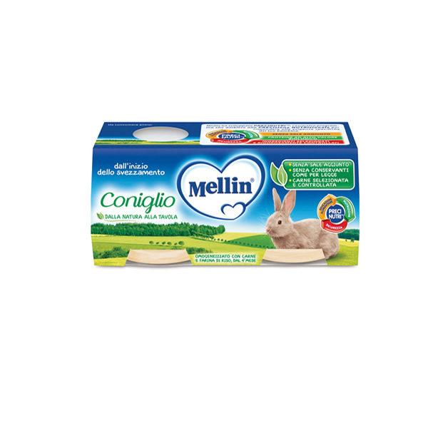 Alimentari Buonconsiglio MELLIN OMOGENEIZZATO CONIGLIO 2 X 80 GR