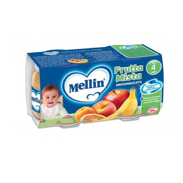 Alimentari Buonconsiglio MELLIN OMOGENEIZZATO FRUTTA MISTA 2 X 80 GR