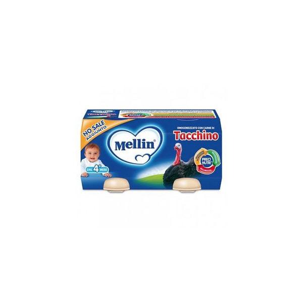 Alimentari Buonconsiglio MELLIN OMOGENEIZZATO TACCHINO 2 X 80 GR