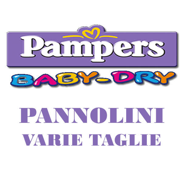 Alimentari Buonconsiglio PAMPERS BABY DRY