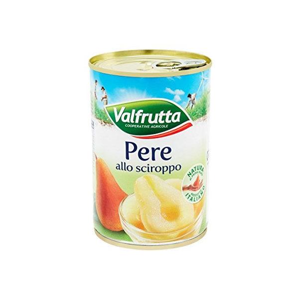 Alimentari Buonconsiglio VALFRUTTA PERE ALLO SCIROPPO 411 GR