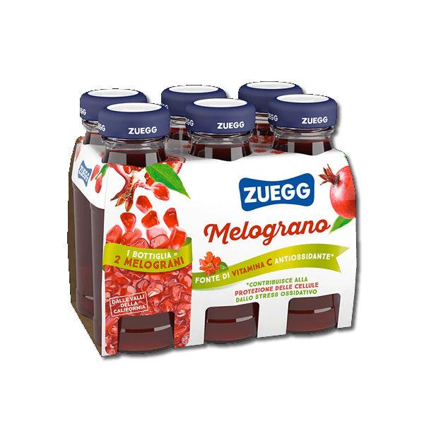 Alimentari Buonconsiglio ZUEGG BOTTIGLINE MELOGRANO 6 X 125 ML
