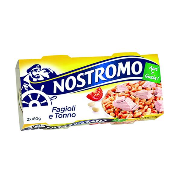 Alimentari Buonconsiglio NOSTROMO TONNO E FAGIOLI 2 X 160 GR