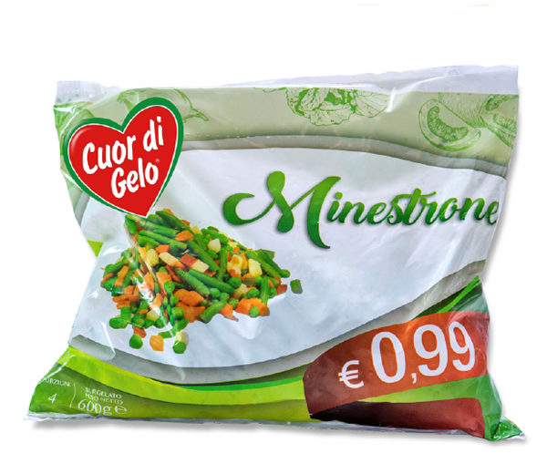 Alimentari Buonconsiglio CUOR DI GELO MINESTRONE 600 GR