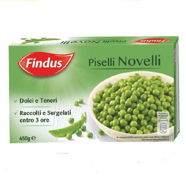Alimentari Buonconsiglio FINDUS PISELLI NOVELLI 450 GR