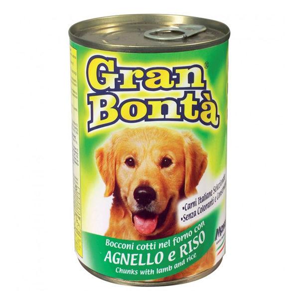 Alimentari Buonconsiglio GRAN BONTA' CARNE IN SCATOLA AGNELLO E RISO 400 GR