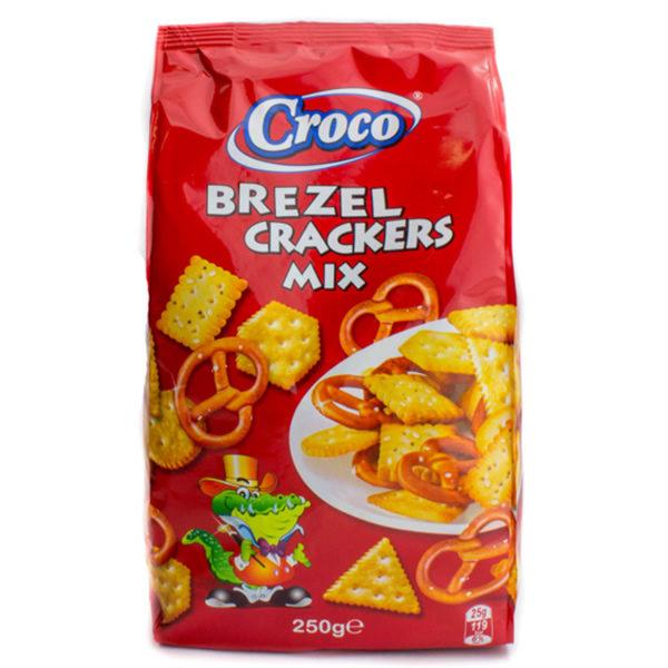 Alimentari Buonconsiglio CROCO BREZEL CRACKERS MIX 500 GR