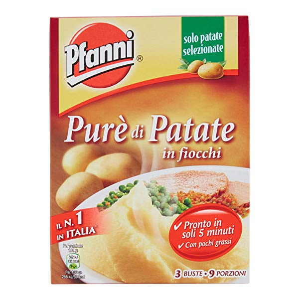 Alimentari Buonconsiglio PFANNI PURE' DI PATATE 225 GR