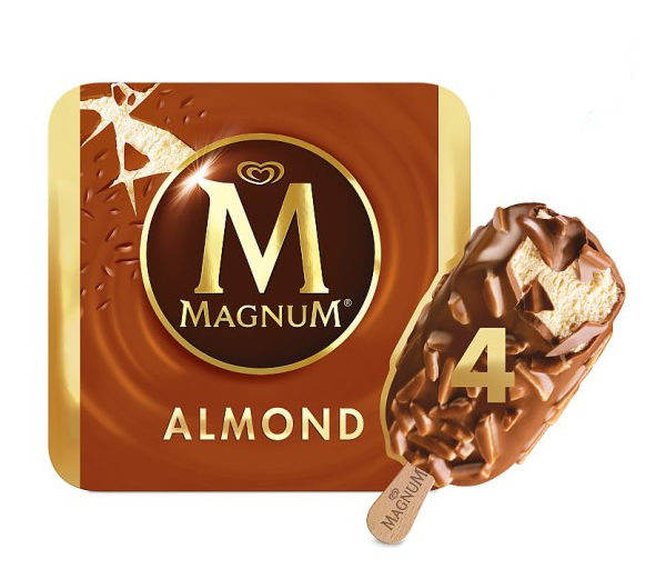 Alimentari Buonconsiglio ALGIDA MAGNUM ALMOND X 4
